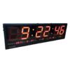 LED Clock Board : นาฬิกา LED ขนาดใหญ่(Board)  ตัวเลขสูง 7 นิ้ว ยาว 40 นิ้ว สำหรับโรงงาน โรงแรม