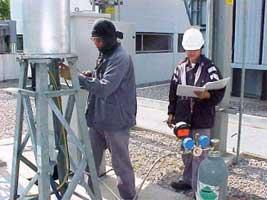 115 kV GIS SF6 Gas Filling
