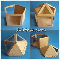 DIY บ้านตุ๊กตา 5 เหลี่ยม