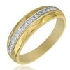 แหวนเพชรกษรแถวเดี่ยว ทอง 90% เพชร 0.32 กะรัต (16 เม็ด)