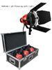 Farseeing FD-R800 Kit 800W 3 ชุด มาพร้อม ขาตั้งไฟ+หลอดไฟ800วัตต์+บานดอและกล่องใส่ไฟ