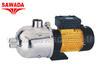 ปั๊มน้ำมัลติสเตส รุ่น TECNO SS 40-40M ขนาดมอเตอร์ 1.0 แรงม้า 750 วัตต์ (ไฟ 2,3 สาย)