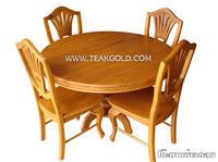 โต๊ะทานข้าวไม้สัก