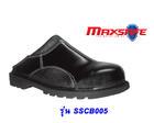 รองเท้าเซฟตี้ หนังเรียบแบบเปิดส้น  SSCB005 (Safety Shoes-รองเท้านิรภัย)