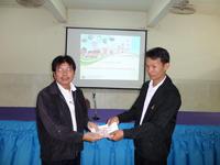 ศูนย์พัฒนาสังคม หน่วยที่ 10 จังหวัดชัยภูมิ มอบทุนนักเรียน