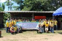 ต้อนรับคณะศึกษาดูงานจากองค์การบริการส่วนตำบลแม่ยางฮ้อ จังหวัดแพร่ ศึกษาดูงานถ่านอัดแท่ง