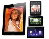 ตารางเปรียบเทียบคุณสมบัติสเปค PlayBook , iPad 2 , Touchpad , Android Tablet