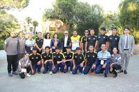 เอกอัครราชทูตไทย ณ กรุงมาดริด ให้การต้อนรับและเลี้ยงอาหารนนักกีฬาฟุตบอลคนตาบอดทีมชาติไทย