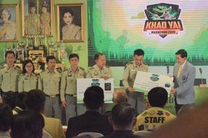แถลงข่าวกิจกรรมการแข่งขัน �เขาใหญ่มาราธอน 2562� วิ่ง..เพื่อร่วมพิทักษ์ผืนป่ามรดกโลกของประเทศไทย ต่อเนื่องเป็นปีที่ 2 ชิงถ้วยพระราชทาน :