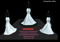 กระโปรงราตรีชายผ้าเช็ดหน้า : Evening Handkerchief Skirt