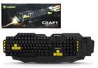 Gaming KB NUBWO Craft NK-09 (USB) ตั้งได้ 4 โปรแกรม (เหลือง) (ดูราคาส่งด้านใน)