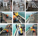To fabrication anew anchor bolt