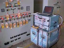 Relay & Metering Test Of 115 kV Panel