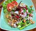 NO. SS09 ยำคะน้าหมูสับ (Spicy kale with minced pork salad)