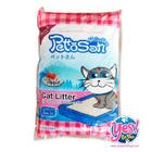 ทรายแมว pettosan กลิ่นApple 5 ลิตร