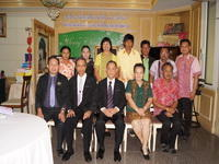 ผู้บริหารสภาคริสตจักรในประเทศไทย เยี่ยมและให้กำลังใจ