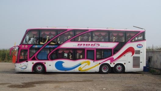 รถบัส 2 ชั้น ปรับอากาศ 50 ที่นั่ง