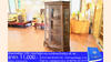 ตู้พระไตรปิฎกไม้สักทรงป้าน-สำหรับหนังสือพระไตรปิฎก45เล่มไทย