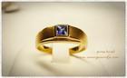GR0005 แหวนทองไพลิน