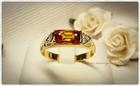 GR0013 แหวนทองบุษราคัม