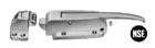 KASON 0056 : กลอนประตูห้องเย็น (SAFEGUARD® LATCH) ขาต่ำ -1/8� ถึง 1/4�