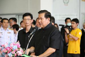 รองนายกรัฐมนตรี เดินทางมาตรวจเยี่ยมและให้กำลังใจนักกีฬาทีมชาติไทยในการเข้าร่วมการเเข่งขันกีฬาซีเกมส์ ครั้งที่ 29 ที่ประเทศมาเลเซีย ระหว่างวันที่ 19 � 31 สิงหาคม 2560 และ อาเซียน พาราเกมส์ ที่ประเทศมาเลเซีย ระหว่างวันที่ 17-23 กันยายน 2560
