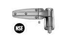 KASON 1248 : บานพับประตูห้องเย็น (SPRING ASSISTED HINGE) ขาต่ำ 0.0 มม