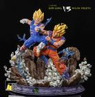 Son Goku vs Majin Vegeta: Dragonball 1/4 Scale Statue by F4Studio