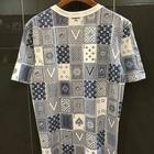 Louis Vuitton Monogram Card Backside T shirt ลายไพ่ สีน้ำเงิน