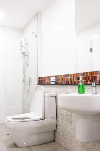 ห้องน้ำ ห้องพัก A