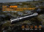 ไฟฉาย Fenix E20 V2.0 350 Lumens ถ่าน AAx2 ก้อน