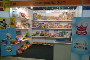 บริษัท ยูเนี่ยนทอย (ไทยแลนด์) จำกัด ออกงานแสดงสินค้าที่ประเทศเวียดนาม