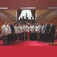กรรมการสภาอุตสาหกรรมท่องเที่ยวแห่งประเทศไทย ประชุมร่วมกับรัฐมนตรี ปลัดกระทรวง อธิบดี และที่ปรึกษา กระทรวงท่องเที่ยวและกีฬา ที่ห้องประชุมหนึ่ง ชั้น สอง วันที่ 26 มิย.2556