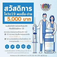 สวัสดิการช่วยเหลือสมาชิกที่ติดเชื้อไวรัสโควิด 19