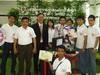 รางวัลชนะเลิศถ้วยพระราชทาน หุ่นยนต์อาชีวศึกษาระดับชาติได้รับรางวัลชนะเลิศ