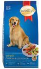 Smart Heart สูตรสุนัขโต รสไก่และไข่ 10 กก.
