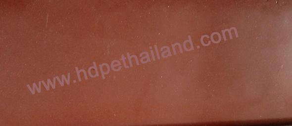 Bakelite(Phenolic Laminates) แผ่น ลายกระดาษสีน้ำตา