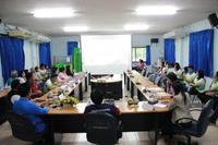 ประชุมติดตามประเมินผลตามโครงการส่งเสริมการมีส่วนร่วมของชุมชนในการคัดแยกขยะที่ต้นทาง