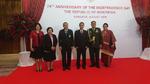 เข้าร่วมงานวันชาติอินโดนีเซีย  ณ siam kempinski hotel กรุงเทพฯ
