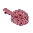 กิ๊บติดผมแฟชั่น รูปดอกกุหลาบสีชมพู เป็นกิ๊บปากเป็ด งานเกาหลี สวยมากๆค่ะ