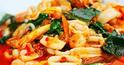 NO. SF26 ผัดพริกแกงรวมมิตรทะเล (Stir fried with chilli curry paste and seafood)