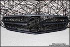 W204 C-Class Real 3M Matte Black Grille [C63 2012]