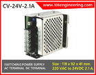 Power Supply 24VDC. 2.1A