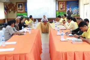 ประชุมบูรณาการเครือข่ายเฝ้าระวังและยุติความรุนแรงต่อเด็กและสตรีระดับอำเภอ
