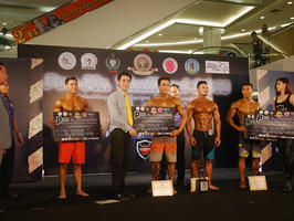 ไอเอสเอ็น ผู้สนับสนุนหลัก การแข่งขันเพาะกายและฟิตเนส Pre- Mr.Thailand 2016 ณ พัทยา