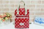 GB-002-2-สีแดง-ราคาส่ง200ปลีก290บาท-กระเป๋านำเข้าผ้าเคลือบกันน้ำดีไซน์cath-kidston-ใช้ได้ทั้งถือและเป้สะพาย