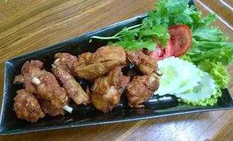 NO. DF07 ไก่ทอดเกลือ (Deep fried chicken with salt)