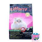 อาหารแมว เกรดพรีเมี่ยม ป้องกันโรคนิ่ว  Tiffany super premium สำหรับแมวทุกช่วงวัย สูตรเนื้อไก่ ปลาและข้าว พร้อมน้ำมันแซลมอน และน้ำมันอีฟนิ่งพริมโรส