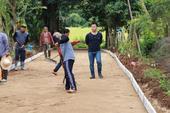 ลงพื้นที่ ตรวจงานโครงการก่อสร้างถนนคอนกรีตเสริมเหล็ก บ้านป่าตึงงาม หมู่ที่ 14