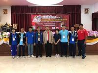 ให้กำลังใจนักกีฬา กีฬาหมากล้อม ณ วิทยาลัยเทคนิคลพบุรี  โดยในครั้งนี้มีนักกีฬาหมากล้อมผ่านเข้ารอบเพื่อมาแข่งขันในระดับชาติ จำนวน 6 คน  เป็นนักกีฬาประเภท ทีมชาย และทีมผสม